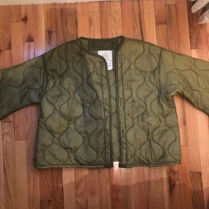 Vintage Army Puffer